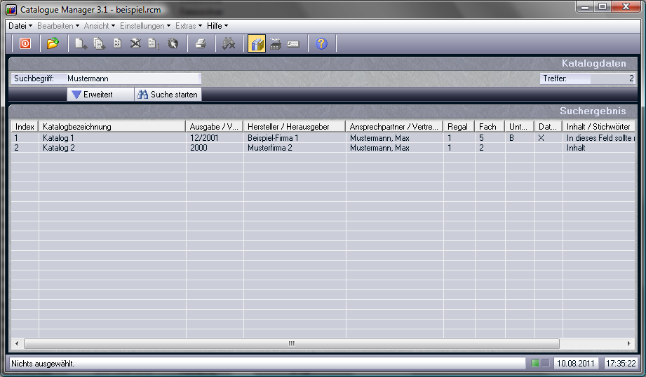 Catalogue Manager